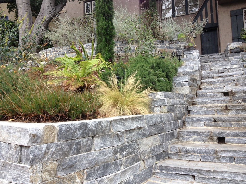 flat wall rock this beautiful rock wall and staircase is made using