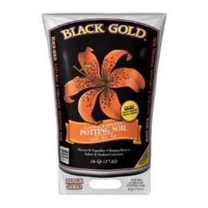 black gold potting soil