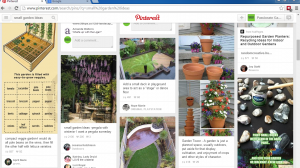 pinterest search example
