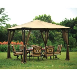 Canopy with Mosquito Net