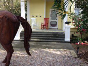 Heat Up your Garden Design with Red Garden Accents