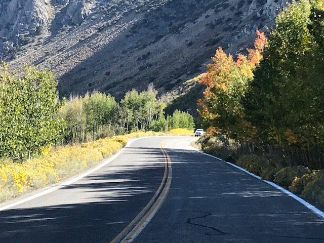 fall road trip June Lakes, CA