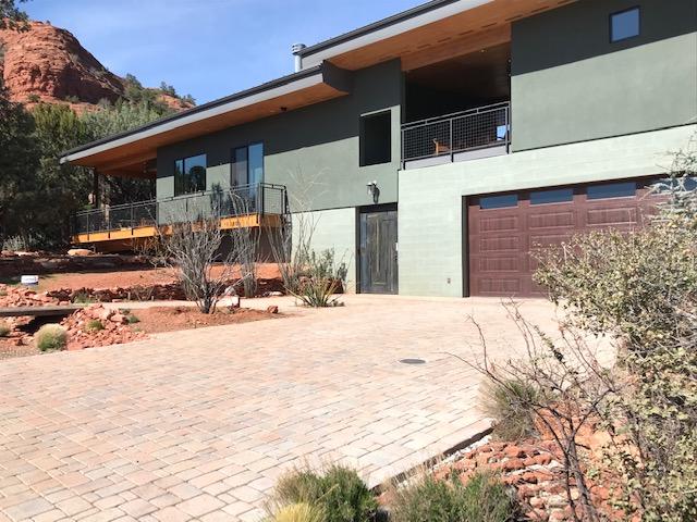 Sedona home garden