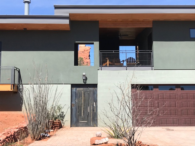 Sedona home architecture