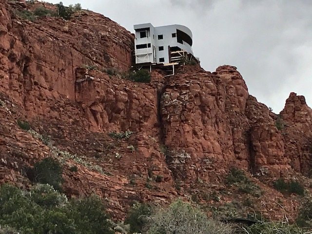 House perched on Upper Red Rocks. Don't get this one.